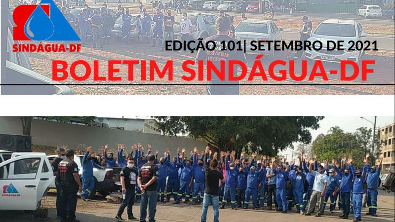 BOLETIM SINDÁGUA-DF