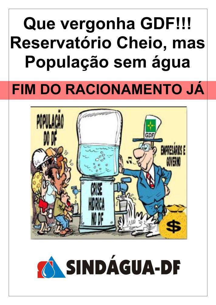Fim do Racionamento JÁ!!!