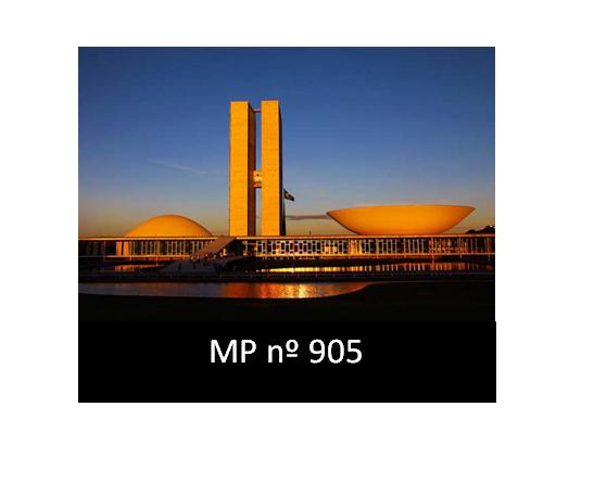 MEDIDA PROVISÓRIA nº 905