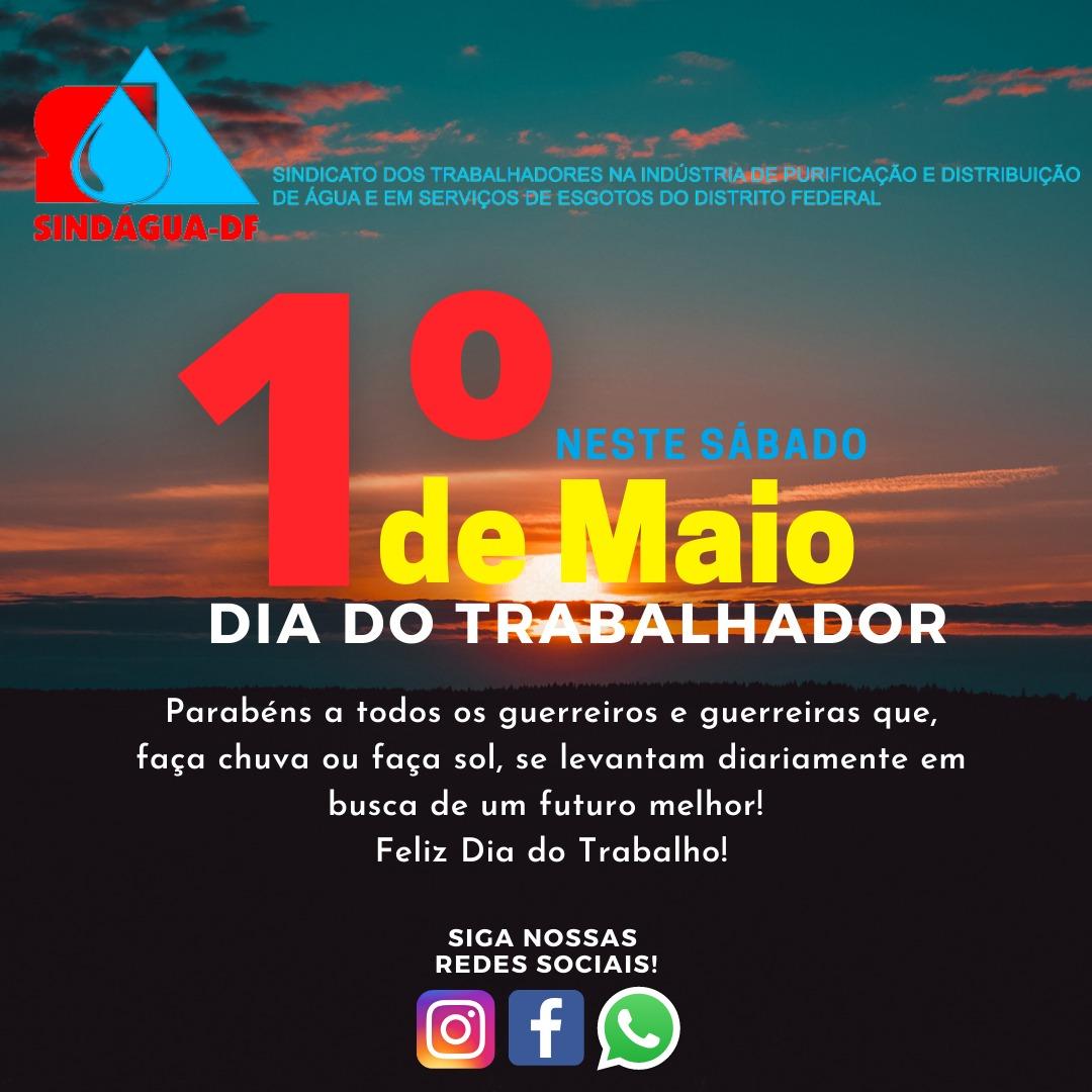 DIA DO TRABALHADOR 01/5