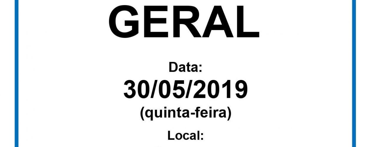ASSEMBLEIA GERAL 30/05