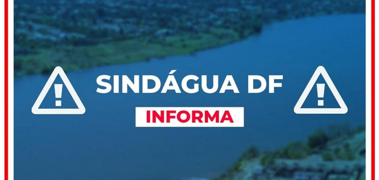 NOTA DE PESAR DO SINDÁGUA-DF 30/01