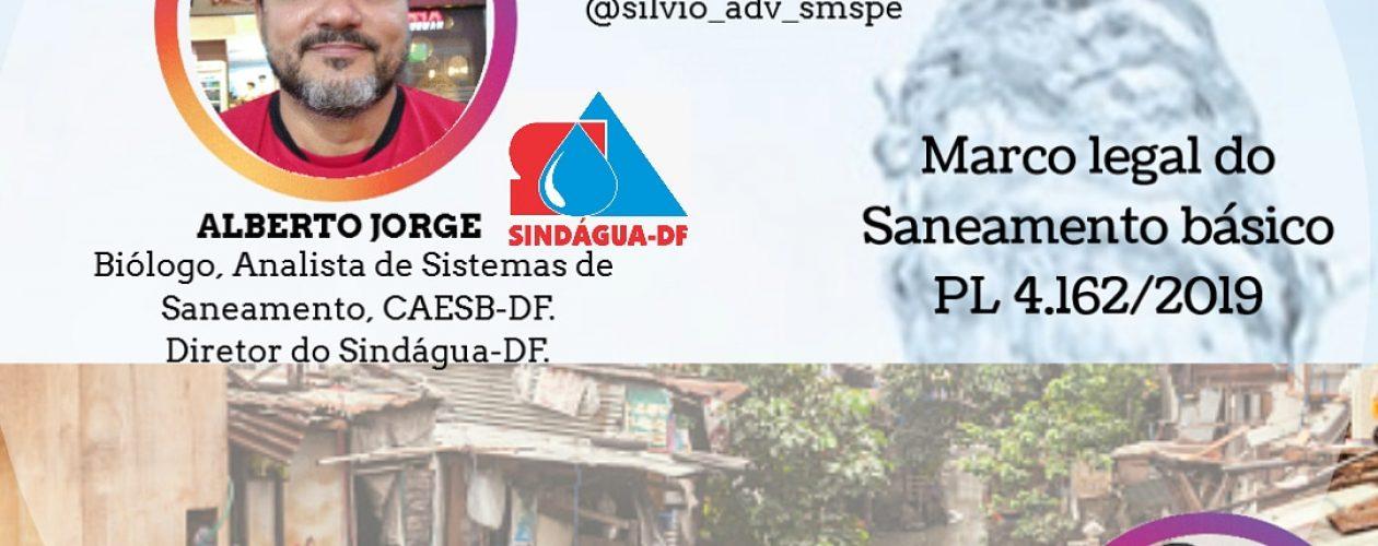 LIVE SIDÁGUA-DF SANEAMENTO E SAÚDE: UNIVERSALIZAÇÃO X PRIVATIZAÇÃO