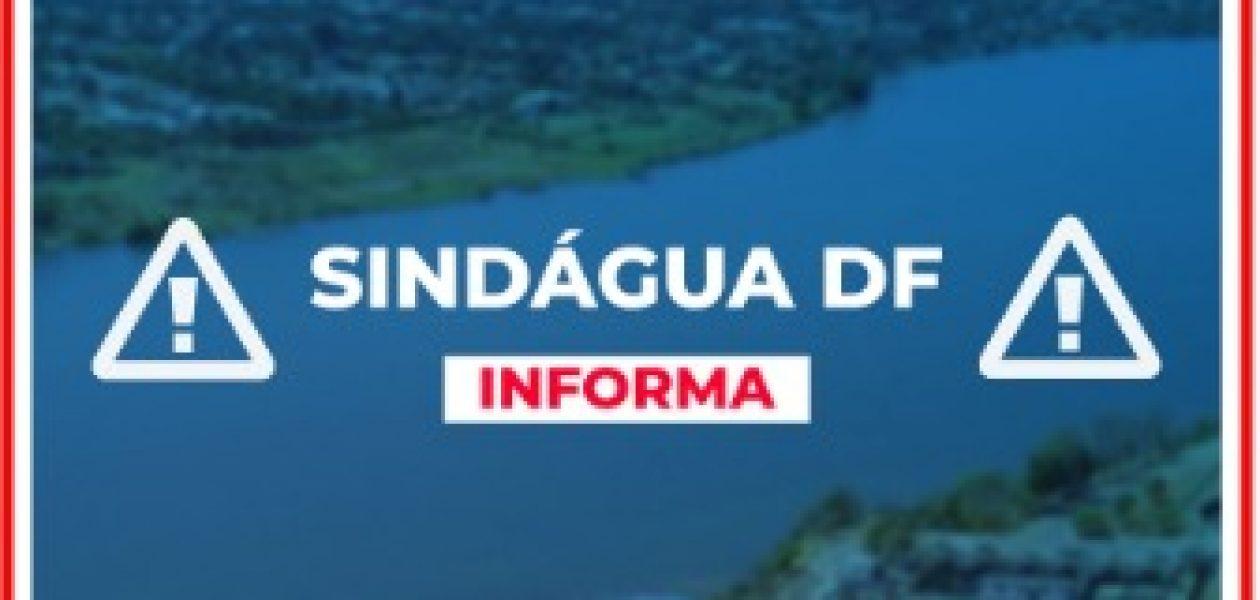 SINDÁGUA-DF INFORMA: PONTO FACULTATIVO
